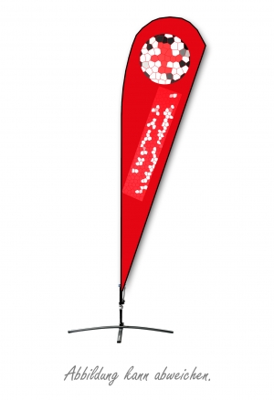 Beachflag (mit eigenem Motiv)