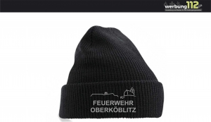 Strickmütze FF Oberköblitz (Motiv Aktiv) [e]