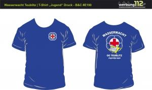 T-Shirt Wasserwacht OG Teublitz (Motiv Jugend) [e]
