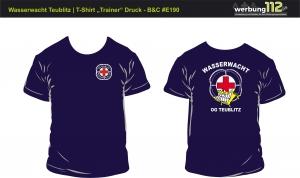 T-Shirt Wasserwacht OG Teublitz (Motiv Trainer) [e]