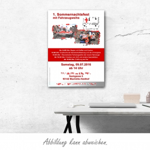 Plakate DIN A2 (mit eigenem Motiv)