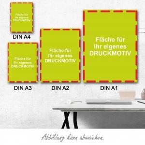 Plakate DIN A4 (mit eigenem Motiv)