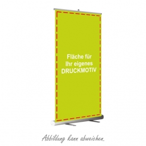 Roll-Up (mit eigenem Motiv)