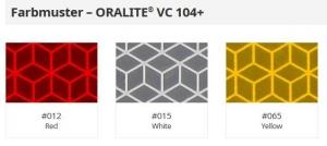 Konturmarkierung ORALITE® VC 104+